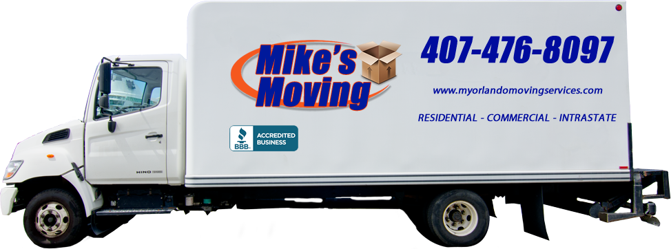 Household moves moving truck